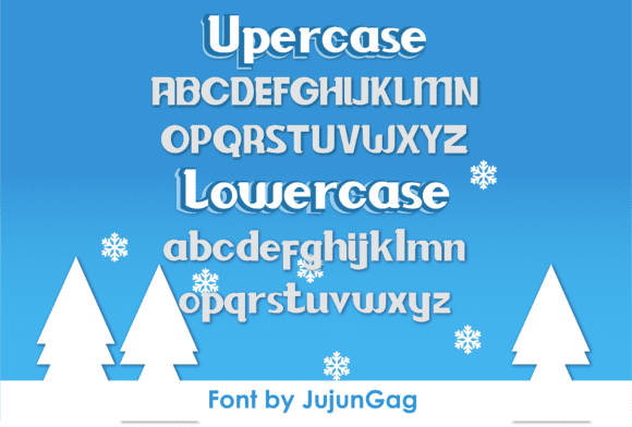 All style of baloon font.