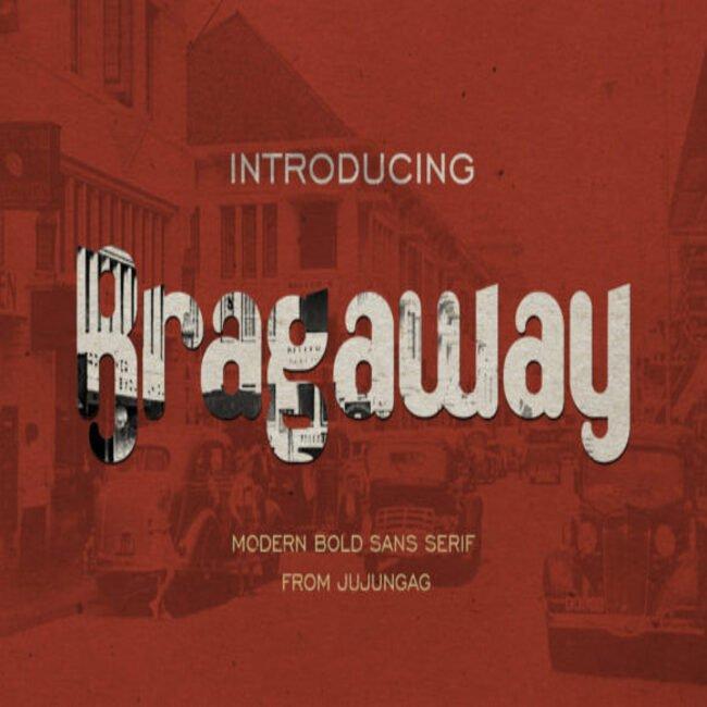 Bragaway Fonts main cover.