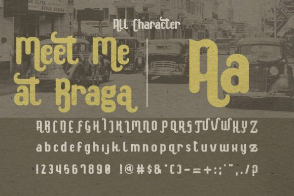 Accurate retro font which describe your project in the best way.