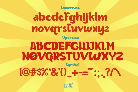 General appearance and main characteristics of the font.