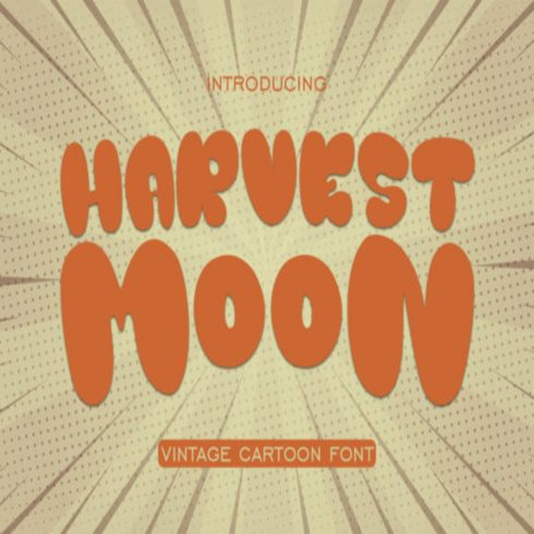 Harvest Moon Fonts main cover.