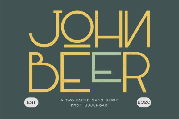 This is a creative typeface that will enrich even the most boring material.