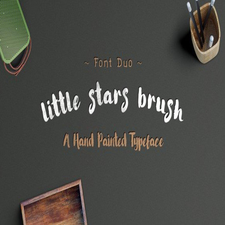 Little Stars Brush main cover.
