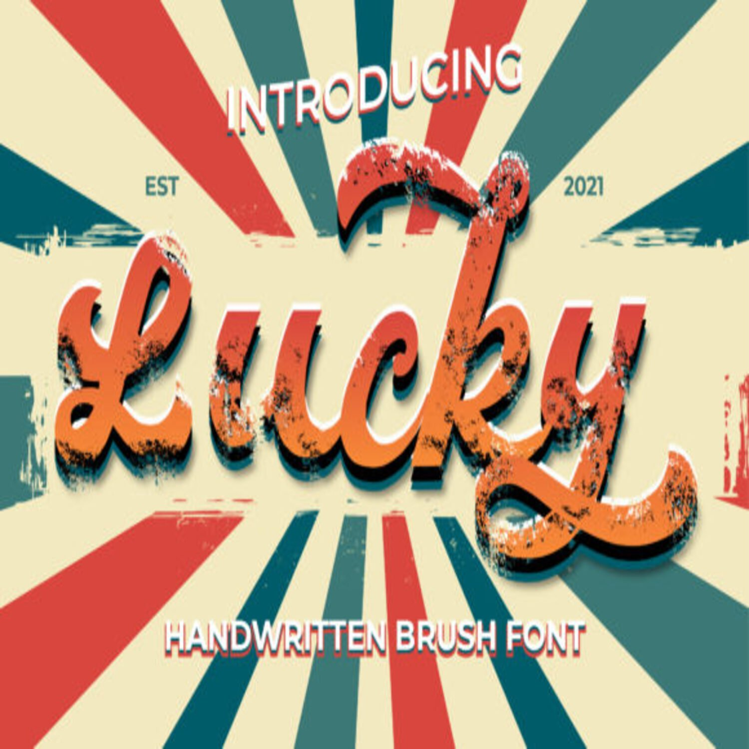 Lucky Fonts main cover.