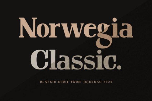 Dark brown background and craft font.