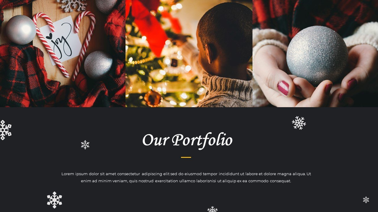 An option for a laconic and small portfolio.