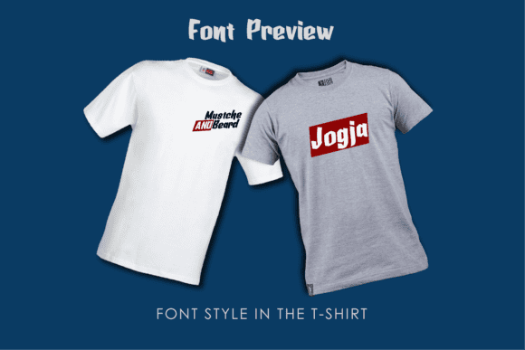 Two t-shirts with logo.