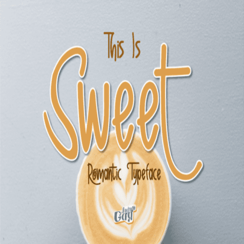 Sweet Fonts main cover.