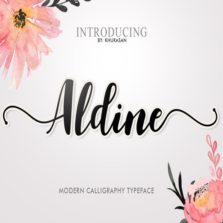 Aldine Script main cover.