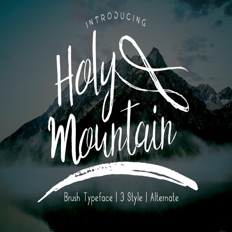 Holy Mpuntain Brush Script main cover.