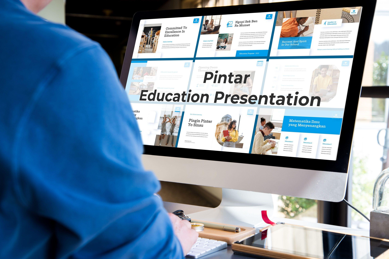 Desktop option of Pintar presentation.