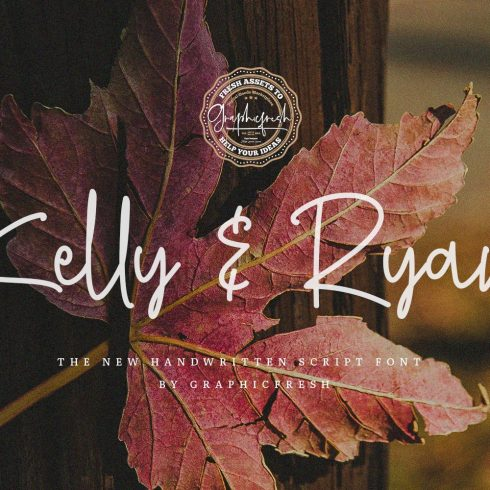 Kelly & Ryan | The Handwritten Font Example.
