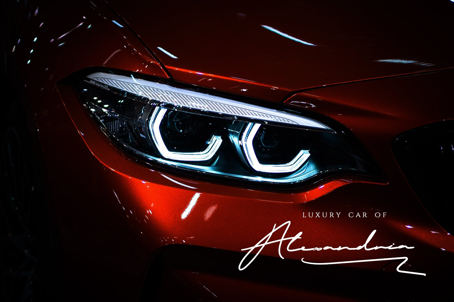 Luxury cars are worthy of this font.