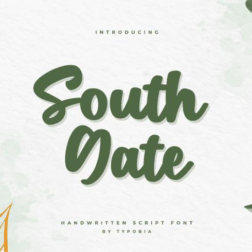 South Gate - A Handwritten Script Font Example.