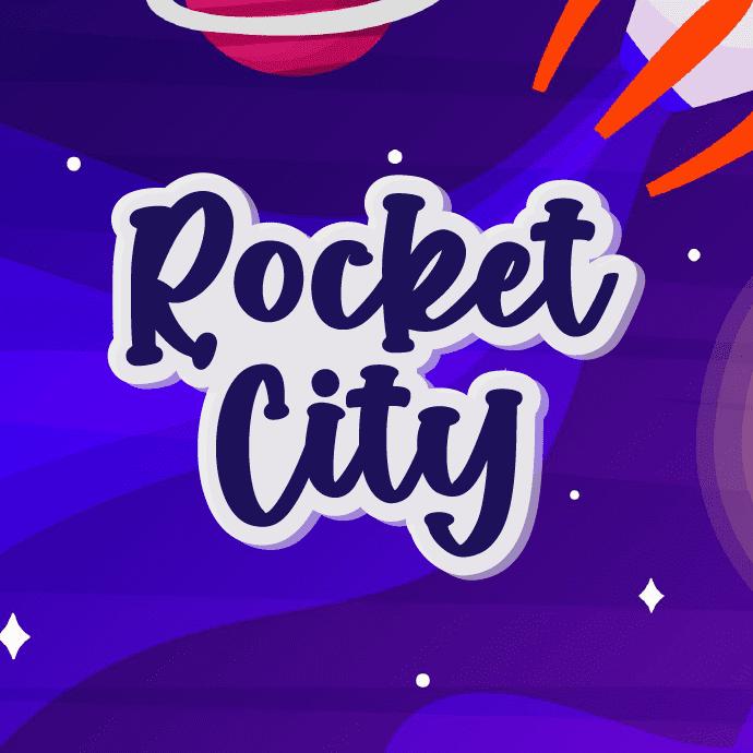 Rocket City - Fun Handwritten Font Example.