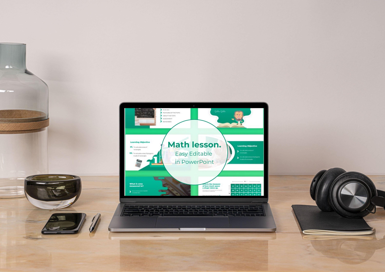 Laptop option of Math Lesson – Mathematics PPTX.