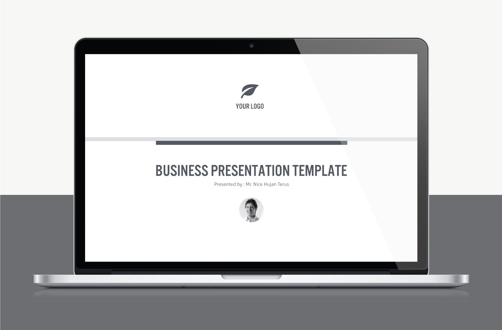 An excellent template for a business presentation.