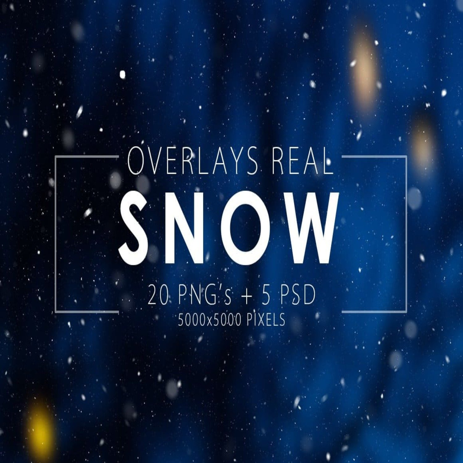 Real Snow Overlays main cover.
