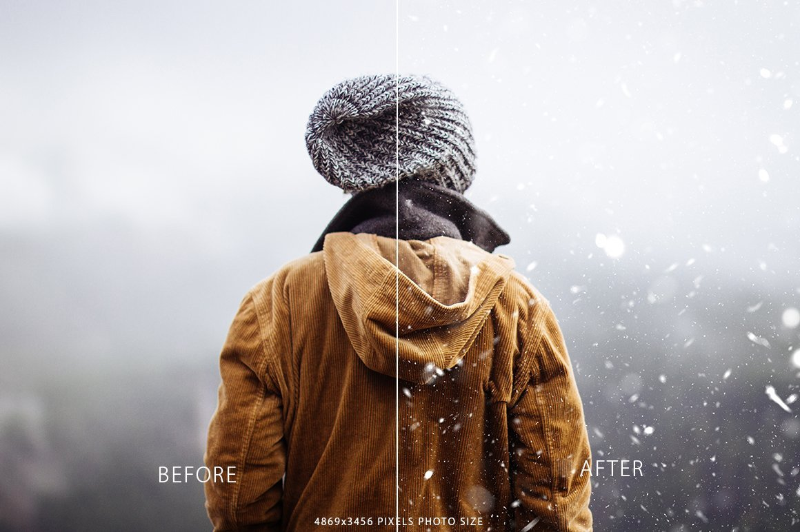 It's a really good preset for creating snow when you want.