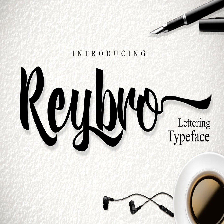 Reybro Script main cover.