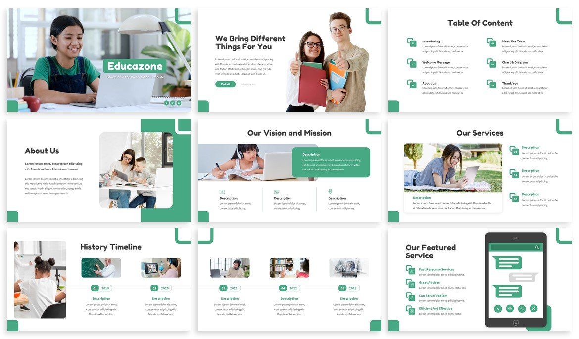 If you want modern and stylish presentation, choose this template.