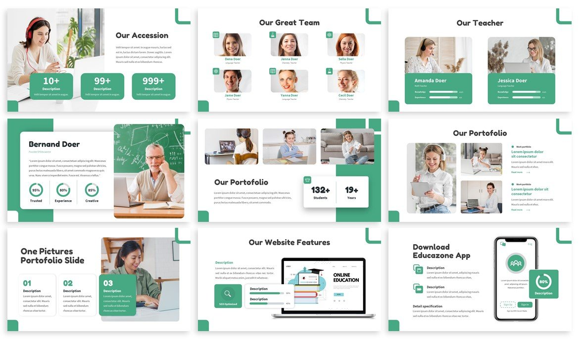 Educazone is a mobile friendly template with flexibility design.