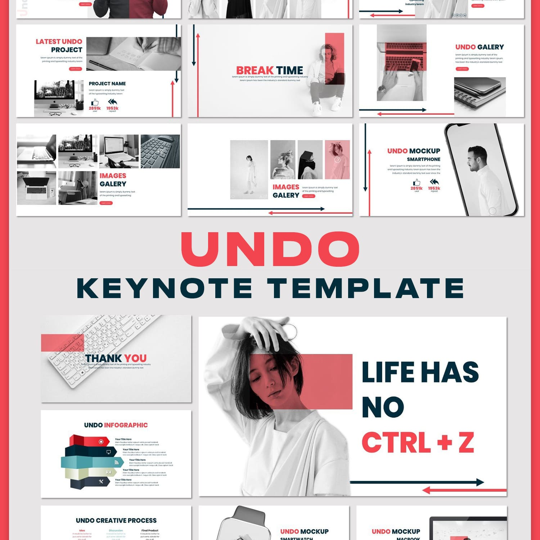 Undo - Keynote Template main cover.