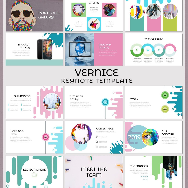 Vernice - Keynote Template main cover.