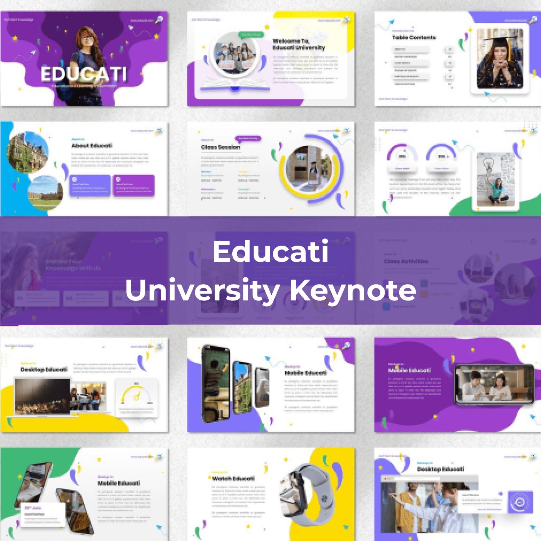 Educati - University Keynote main cover.