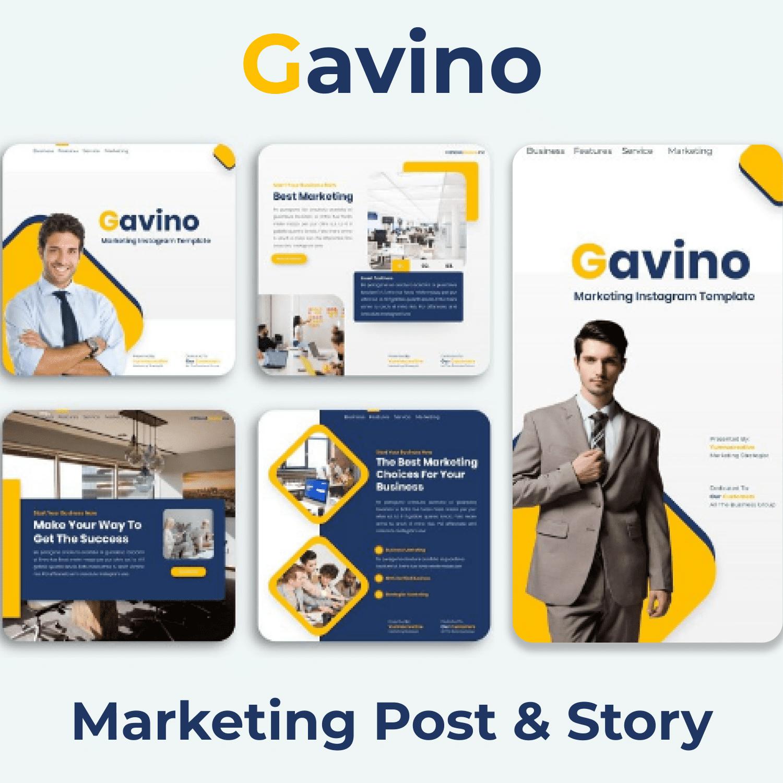 Gavino - Marketing Post & Story main cover.