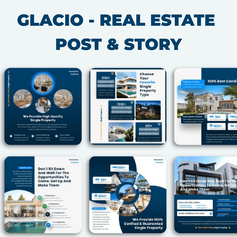Glacio - Real Estate Post & Story main cover.
