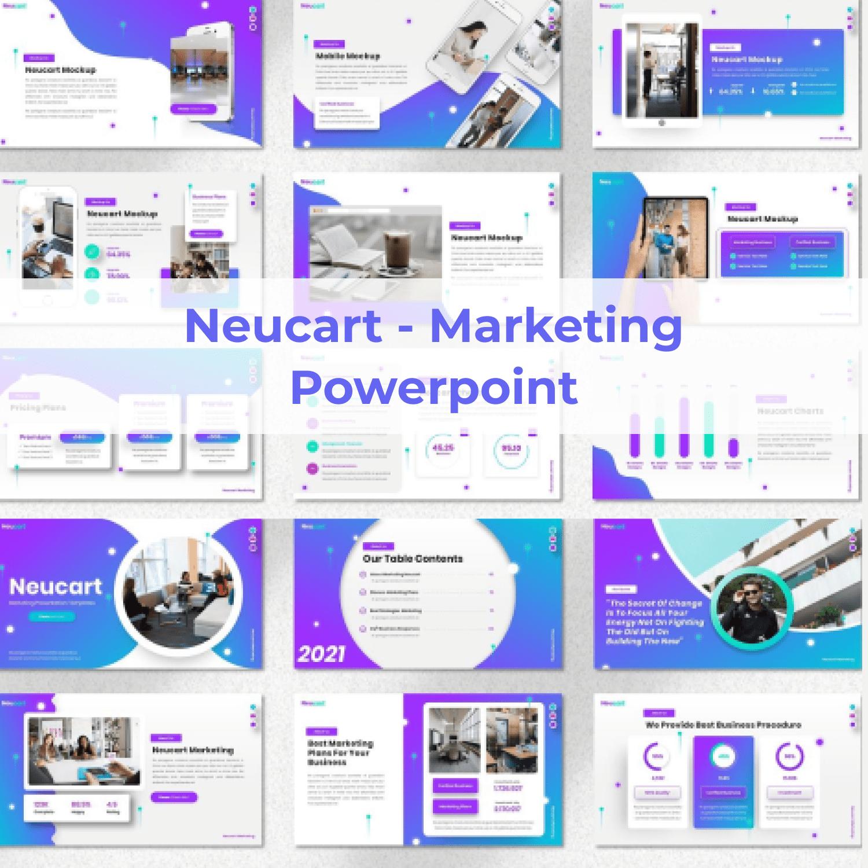 Neucart - Marketing Powerpoint main cover.