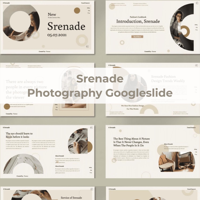 Srenade - Photography Googleslide main cover.