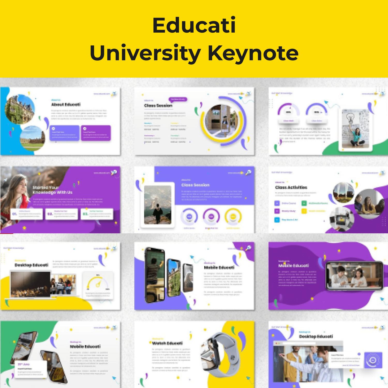 Educati - University Keynote cover image.