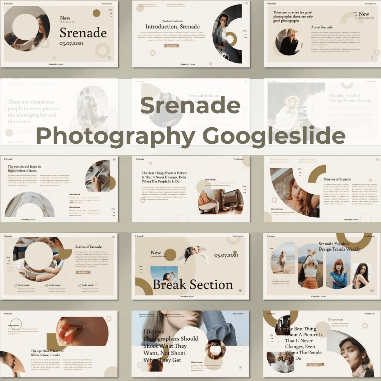 Srenade - Photography Googleslide cover iamge.