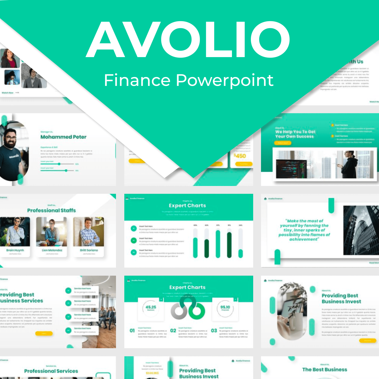 Avolio Finance Powerpoint main cover.