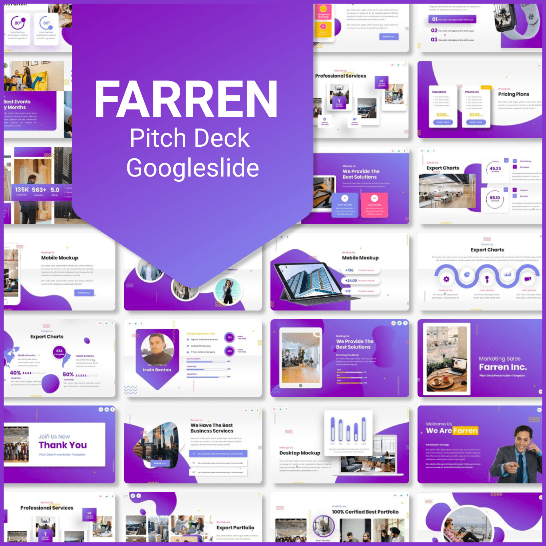 Farren Pitch Deck Googleslid main cover.