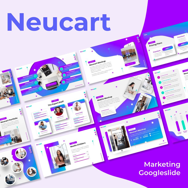Neucart - Marketing Googleslide main cover.