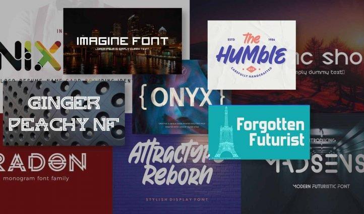 Best Futuristic Fonts Example.