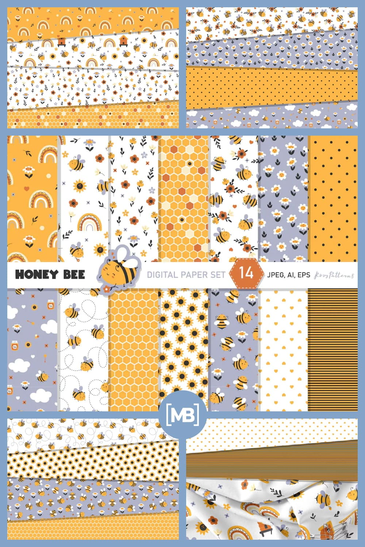 Honey Bee Set.