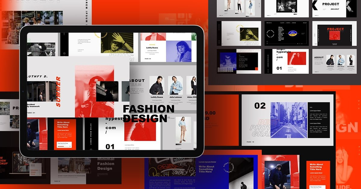 Fashion is an adaptive and mobile friendly template.
