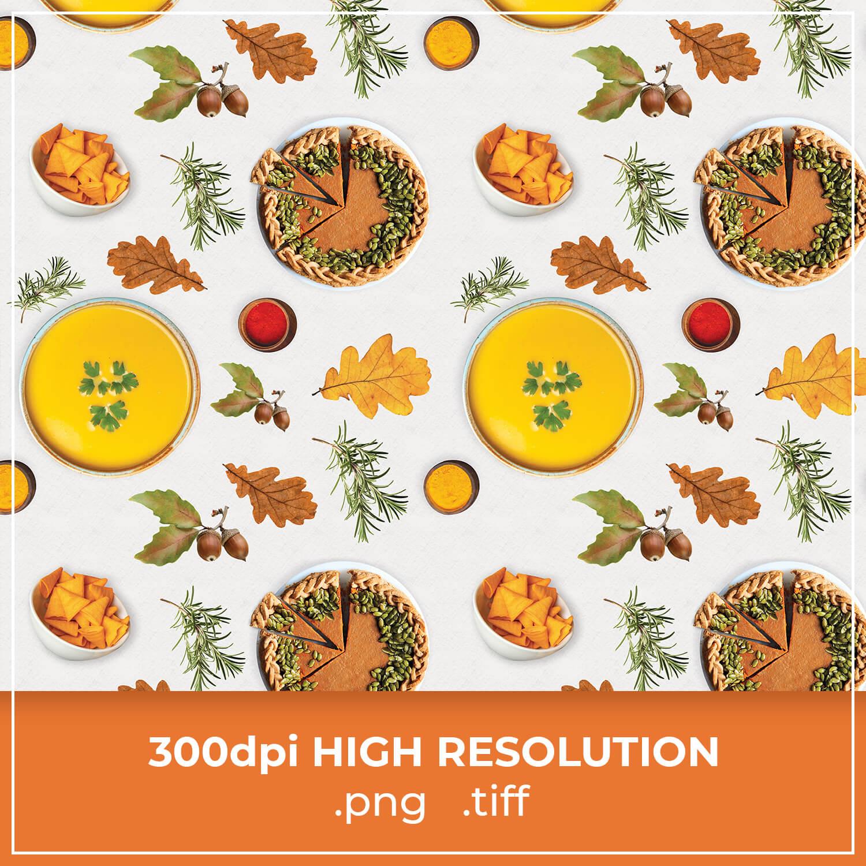 Free Pumpkin Soup Pattern cover image.