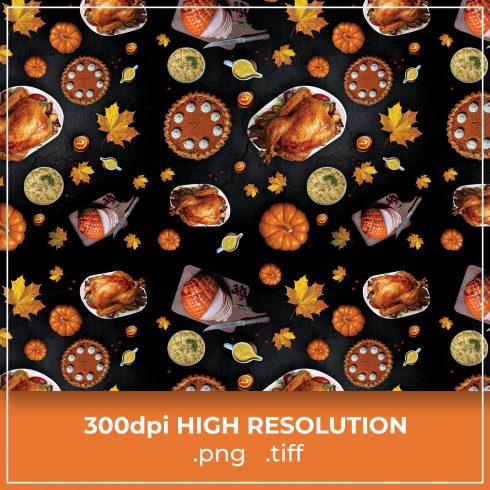 Thanksgiving Turkey Free Pattern cover image.