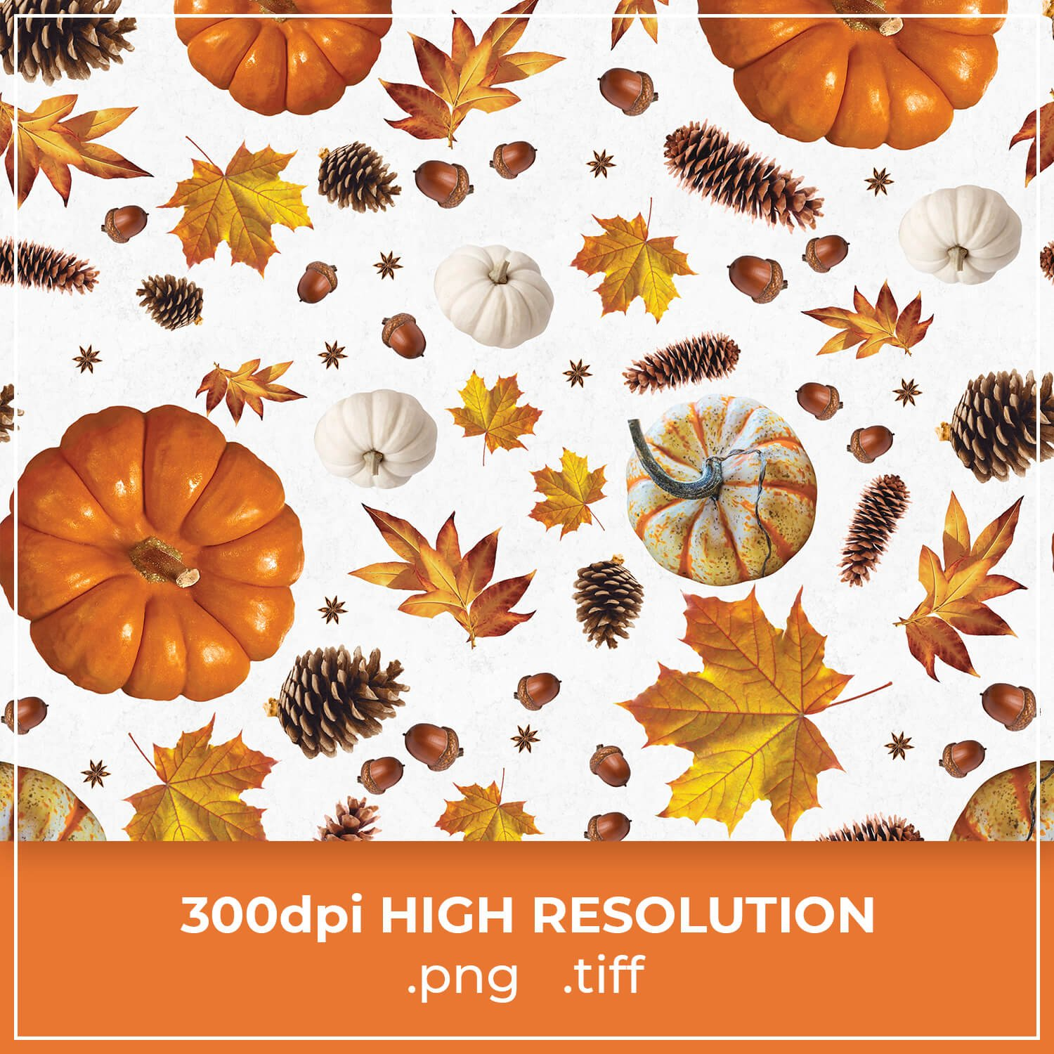 Free White Thanksgiving Patterns cover image.