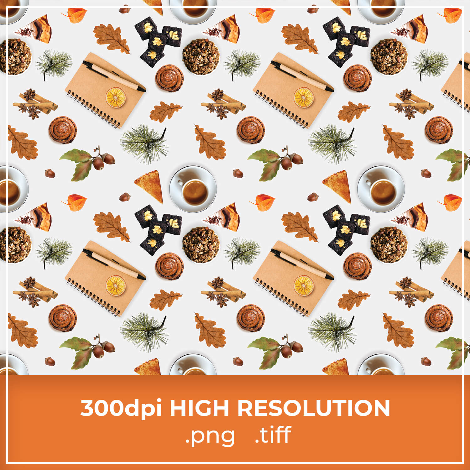 Free Thanksgiving Pattern Background cover image.