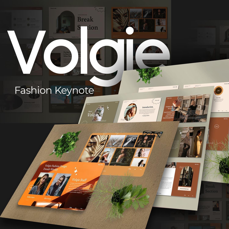 Volqie - Fashion Keynote main cover.
