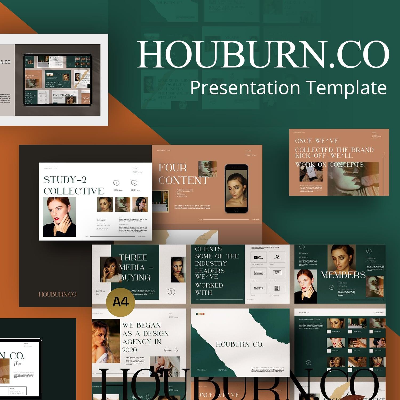 Houburn.CO Keynote Template main cover.