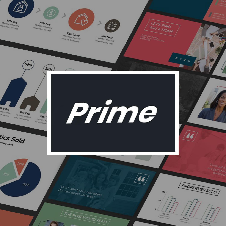 PRIME Real Estate Templates Bundle main cover.