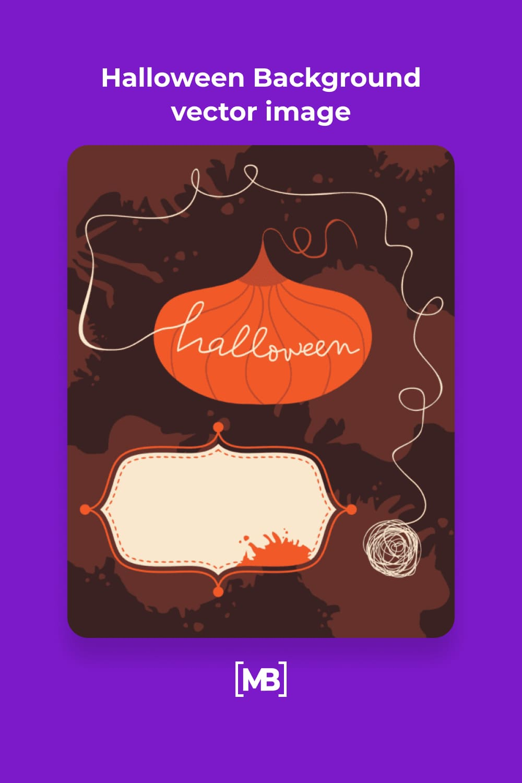18 Halloween Background vector image
