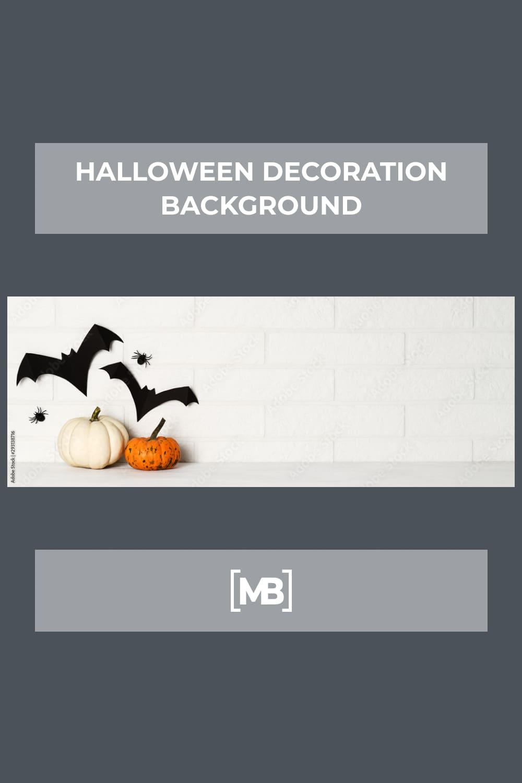 19 Halloween decoration background